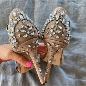 Gorgeous nude sandals
